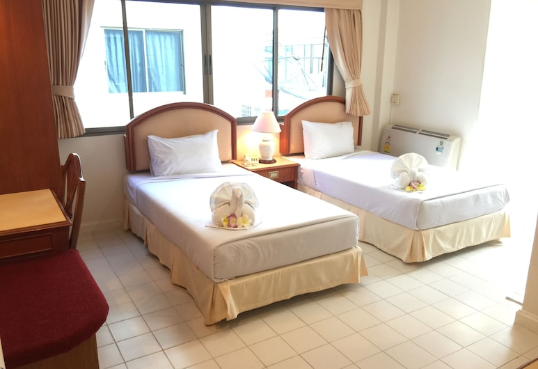 Smile Inn Patong, Patong, Deluxe Twin Room, Chambre