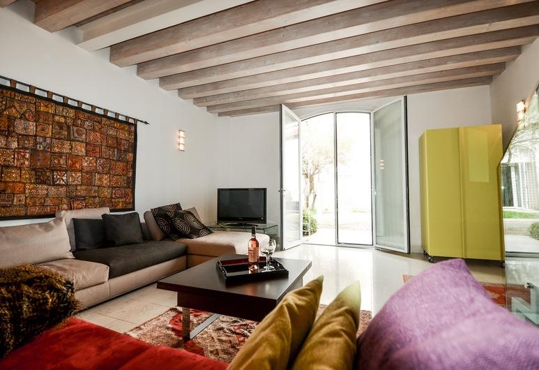 Ca' degli Archi, Benátky, Apartmán, 2 ložnice, Obývací pokoj