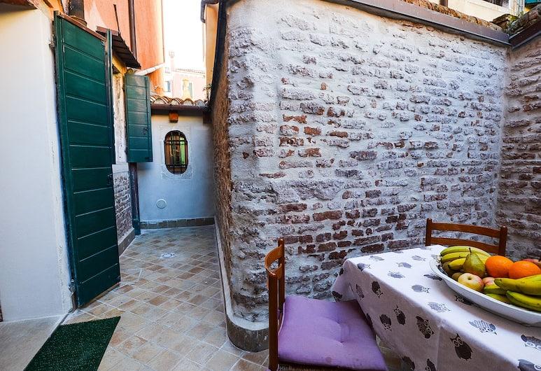 Cà Marin, Венеция, Апартаменты, 2 спальни, Терраса/ патио