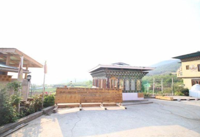 Bongde Goma Resort, Paro, Vista desde el hotel