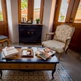 Familien-Suite, Balkon - Wohnbereich