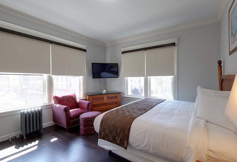 沃爾菲爾德酒店, 三藩市, 標準客房, 1 張加大雙人床, 私人浴室, 客房