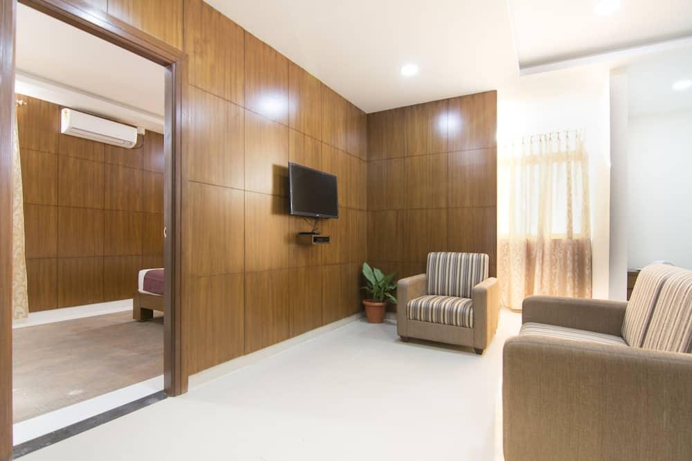 Studio Suite ( AC) - Living Room