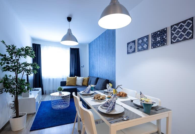 Vagabond Corvin, Budapeszt, Apartament typu Superior, 1 sypialnia, Powierzchnia mieszkalna