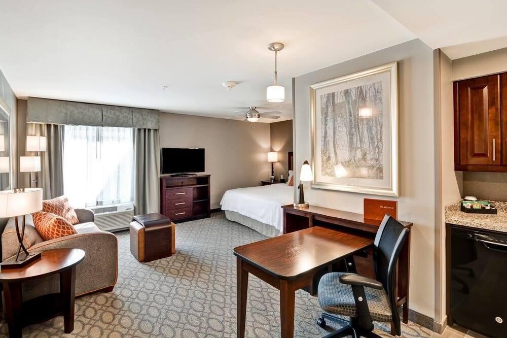이그제큐티브 스위트, 침실 1개, 금연 - 거실 공간