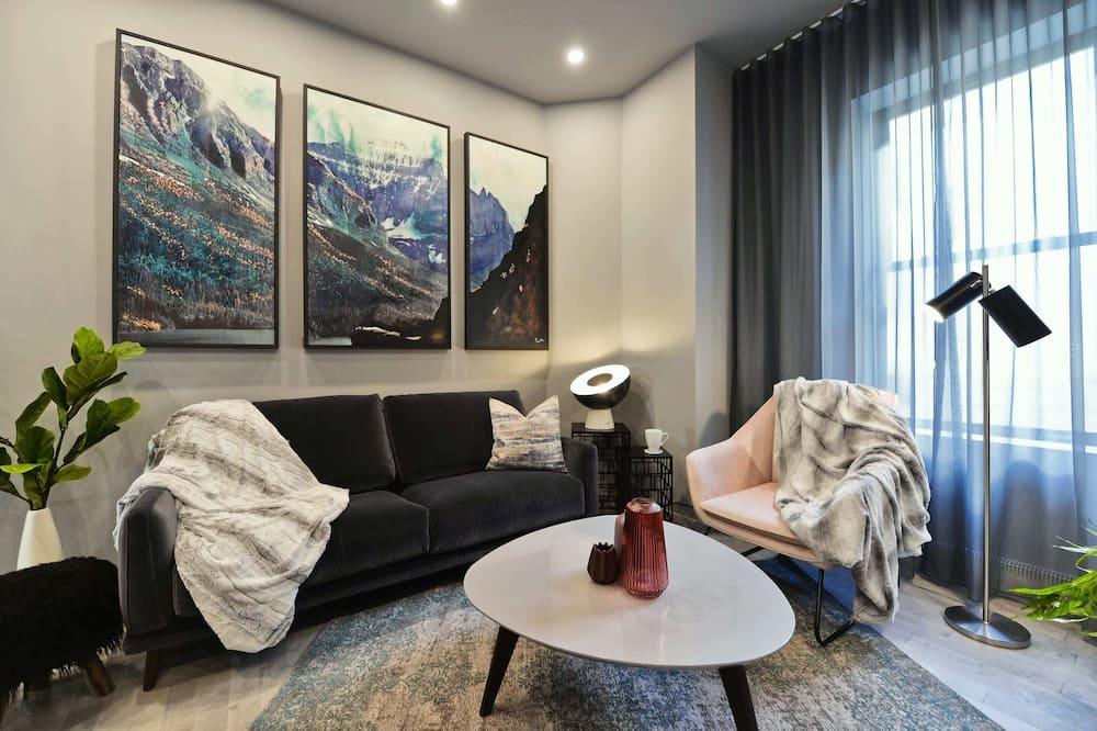 아파트, 침실 2개 (907) - 거실