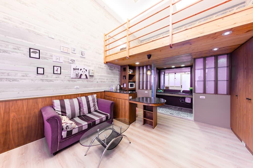 Comfort Loft - Living Area