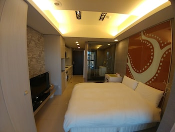 台北、S&J オキシジェン 台北 NTU 公館 サービス アパートメントの写真