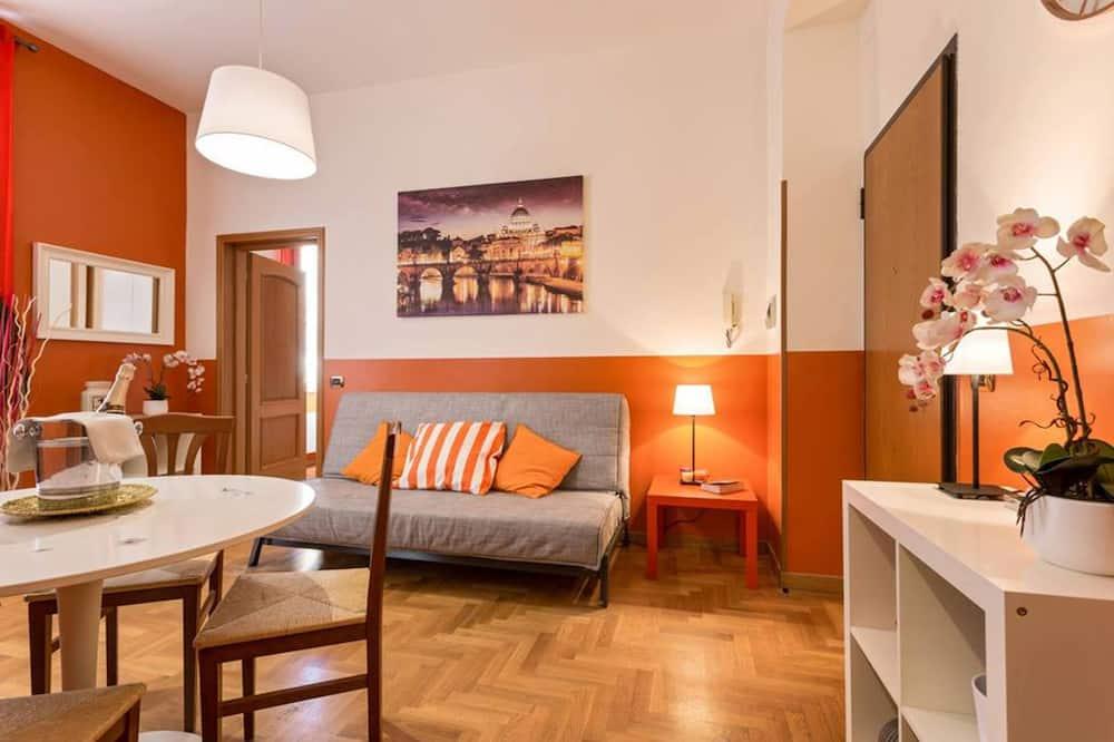 公寓, 1 間臥室 (Casa Arancio) - 客廳