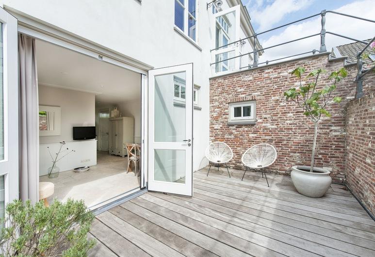 Villa Oldenhoff, Abcoude, Deluxe Double Room, Terrace/Patio