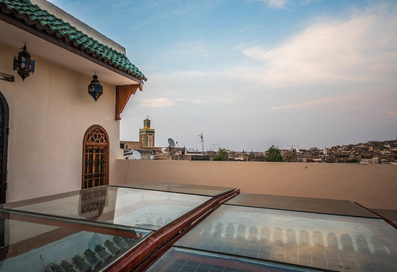 Riad Ouliya, Fes, Vista do hotel