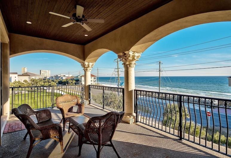 Casa Tuscany 6 Bedroom Holiday Home by Five Star Properties, Miramar Beach, Hus, 6 soverom, utsikt mot hav, sjøvendt, Balkong