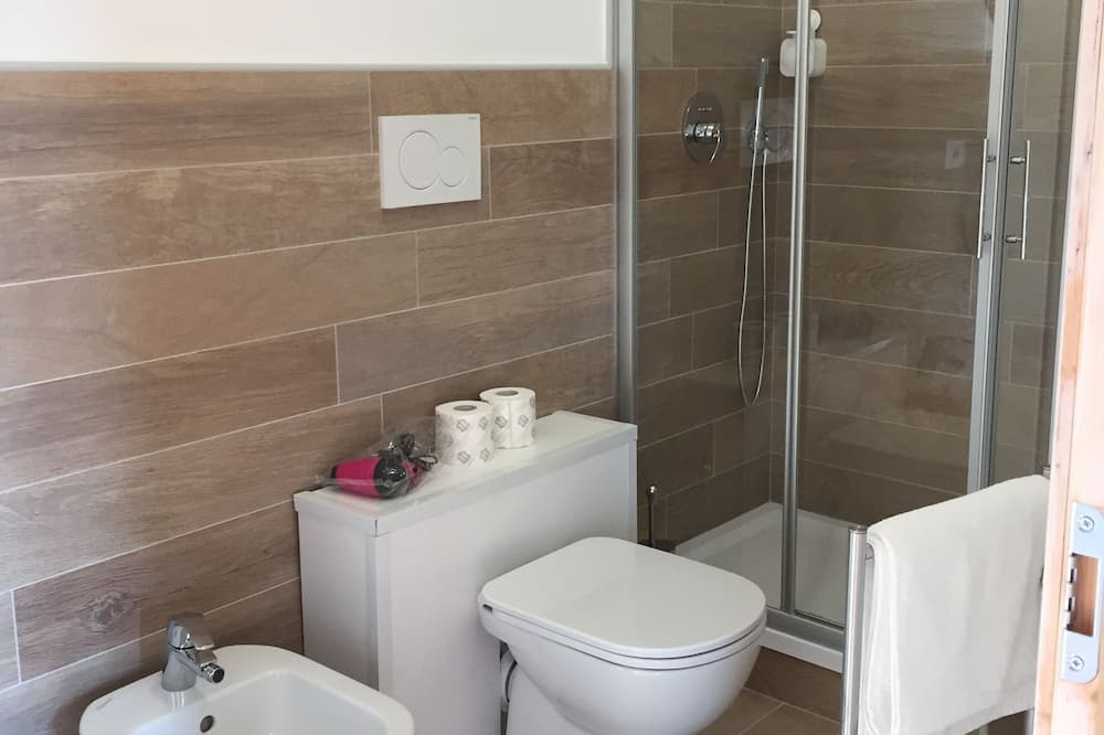 Double Room, Park View - Bathroom