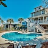 Ev, 4 Yatak Odası, Okyanus Manzaralı, Denize Bakan - Açık Yüzme Havuzu