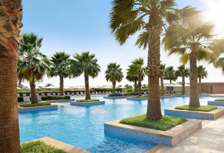 Marriott Hotel Al Forsan, Abu Dhabi, Abou Dabi, Piscine en plein air