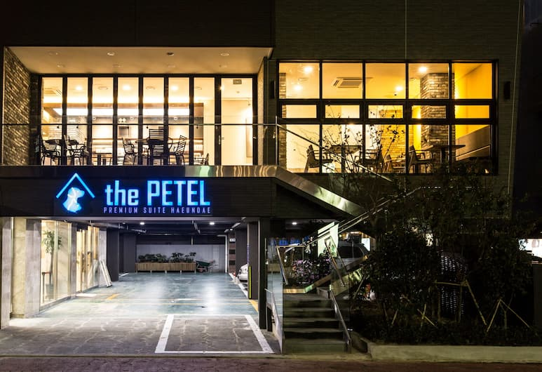 Sleep with Your Own Pet Only - The Petel, Busan, Bagian Depan Hotel - Sore/Malam
