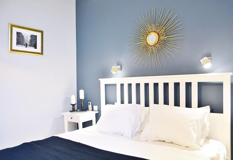 KrakowForRent Apartments - Main Square, Krakow, Leilighet – comfort, 2 soverom, balkong, gårdsplassområde (Swietego Krzyza 16), Rom