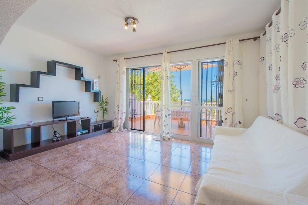 Villa, 3 habitaciones, piscina privada, vista al mar - Sala de estar