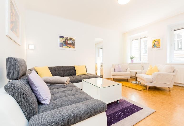 Jupiter Apartment Dorotheergasse, Viena, Apartamento, 2 quartos, Sala
