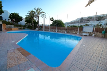 Picture of With pool, terrace and sea view in Mogan
