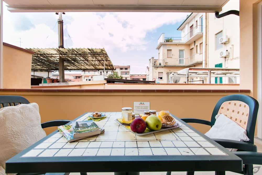 Tweepersoonskamer, terras - Balkon