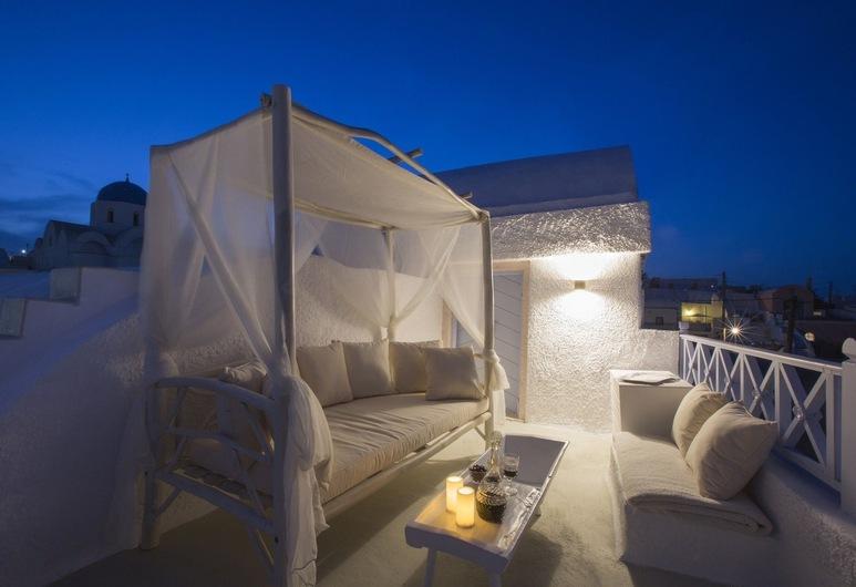 Dantelo Luxury Residences, Santorini, House, 3 Bedrooms, Jetted Tub (Pink ), Terrace/Patio