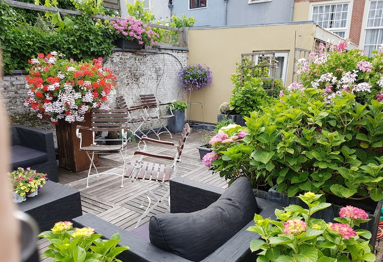 Boutique hotel Huys van Leyden, Leiden, Quarto Duplo ou Twin Comfort, Terraço/Pátio Interior