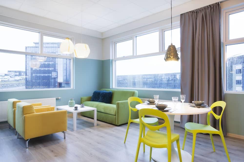 Pagerinto tipo apartamentai - Svetainės zona