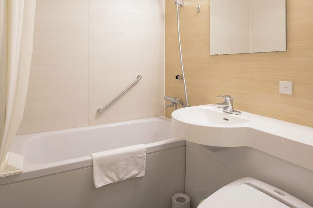 Einzelzimmer, Nichtraucher (1 Semi-double Bed, Limited) - Badezimmer