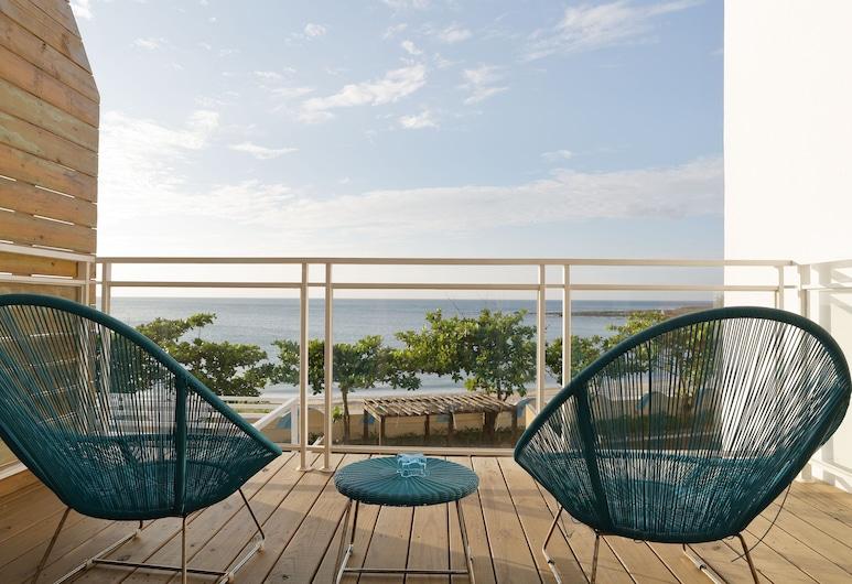 Hooope Inn, Checheng, Habitación doble superior, 1 habitación, lanai, frente al mar, Balcón