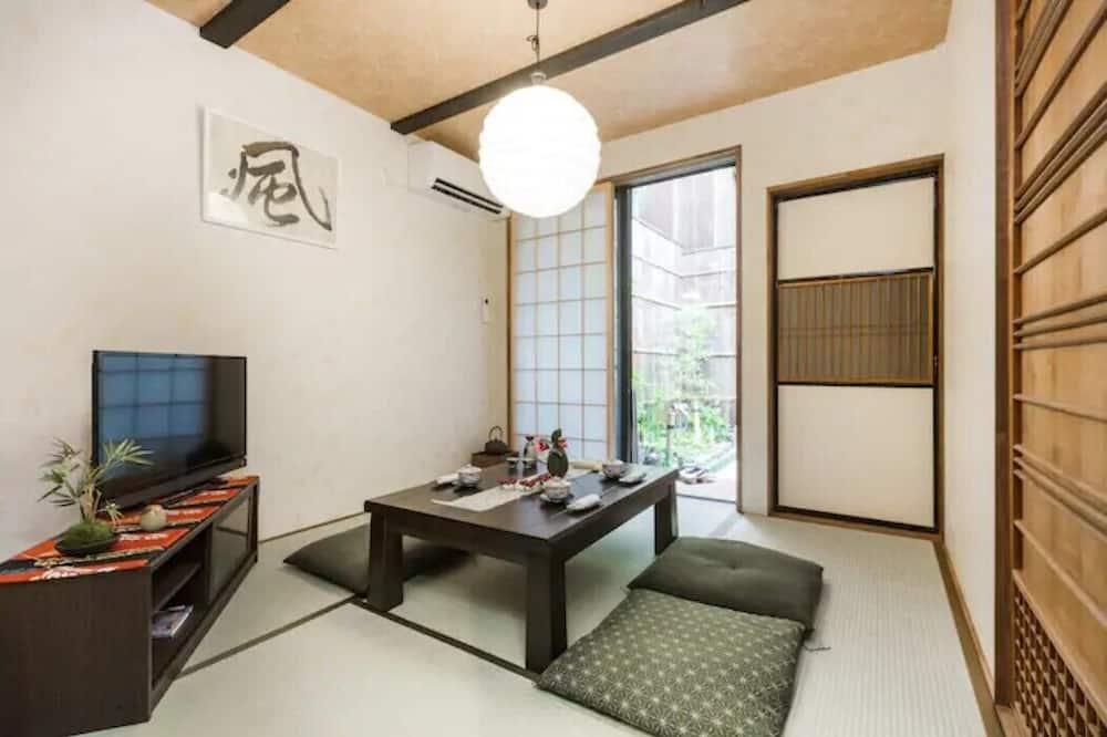 Ferienhaus (Machiya Entire) - Wohnbereich