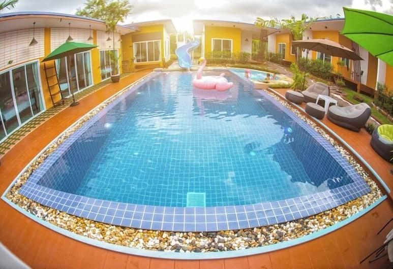 Nai C Resort, Surat Thani, Alberca al aire libre
