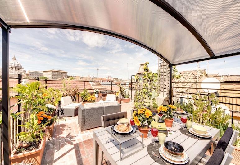 阿瑪爾酒店, 羅馬, 公寓, 1 間臥室 (Borgo Pio 39), 陽台