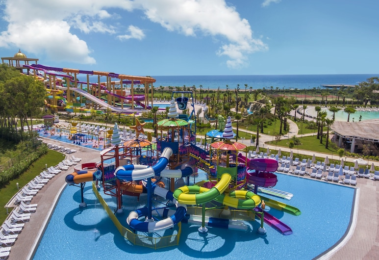 Delphin Be Grand Resort - All Inclusive, Antalya, Vodní skluzavka