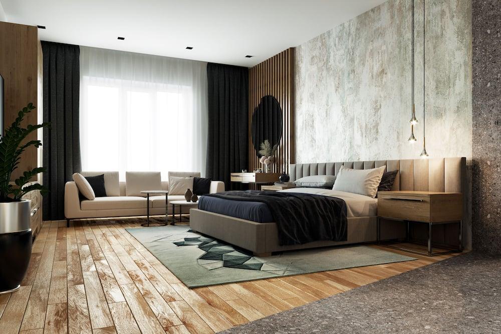 Apartament typu Superior, 1 sypialnia, jacuzzi (with Jacuzzi) - Pokój