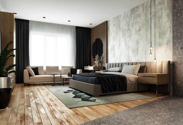 Privilege Suites by Central Park, Belgrad, Superior-Apartment, 1 Schlafzimmer, Whirlpool (with Jacuzzi), Zimmer