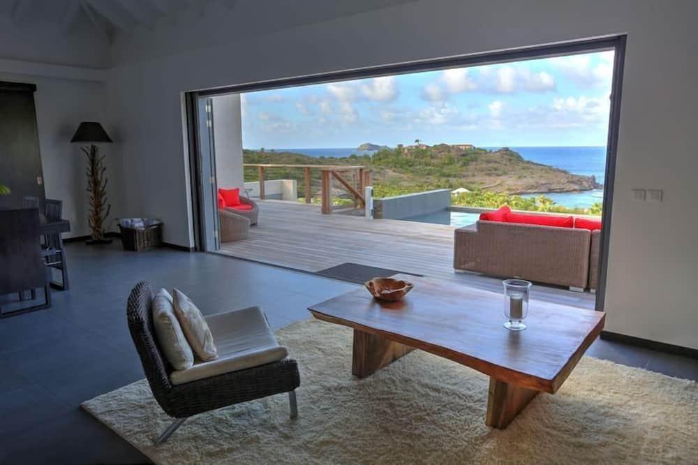 Biệt thự, Quang cảnh biển - Khu phòng khách