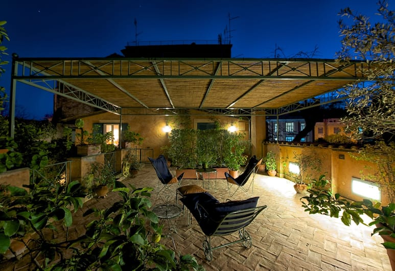 Buonanotte Garibaldi, Rome, חדר דה-לוקס זוגי או טווין, טרסה, מרפסת/פטיו