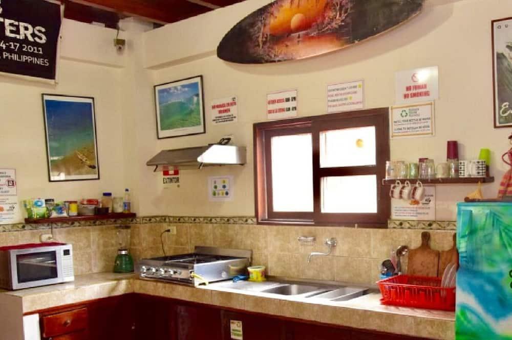 Standard Shared Dormitory, Mixed Dorm, Balcony (4 beds) - Shared kitchen
