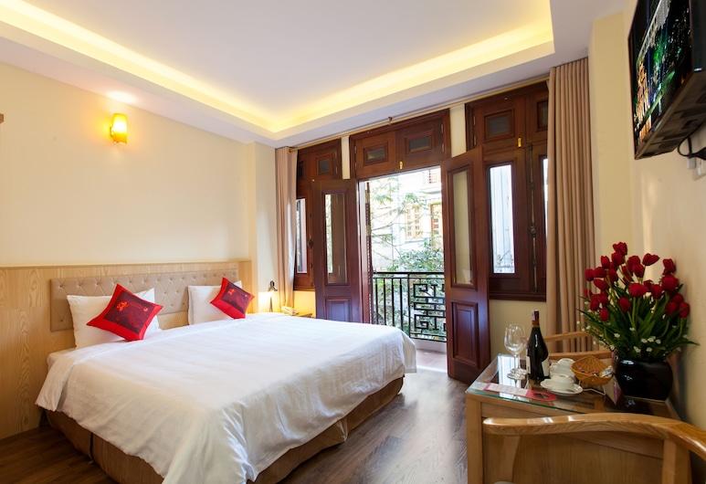 Queen Light Hotel, Hanoi, Deluxe Double Room, 1 Bedroom, City View, Guest Room