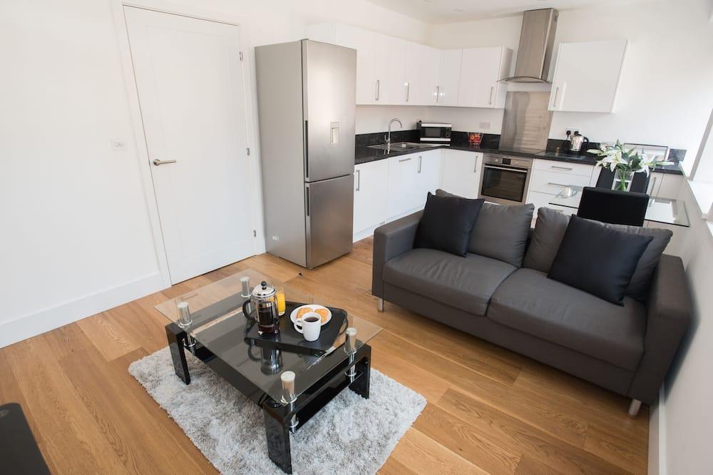 Apartamentai verslo klientams, 1 miegamasis - Svetainės zona