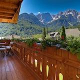 Comfort-Apartment, 1 Schlafzimmer, Terrasse, Bergblick - Balkon