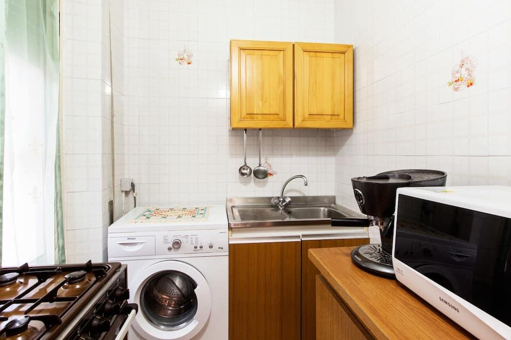 Enkeltværelse - fælles badeværelse - Fælles køkken