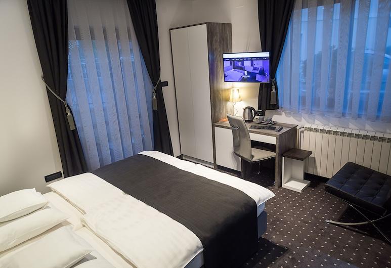 LOG IN ROOMS, Zagreb, Habitación Deluxe con 1 cama doble o 2 individuales, con acceso para silla de ruedas, Habitación