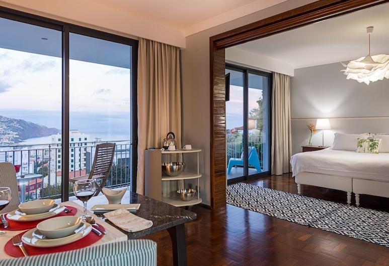 貝爾維德精品飯店 - 僅限成人入住, 芳夏爾, 高級公寓, 陽台, 海景, 客房景觀