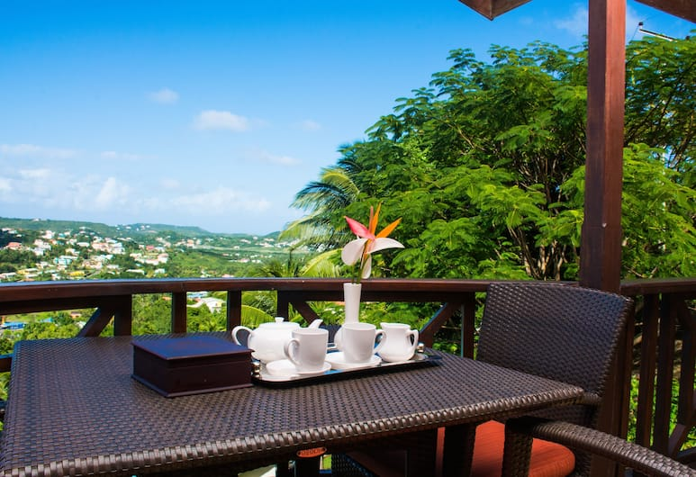 Heavenly Suites, Gros Islet, Deluxe Penthouse, 2 Bedrooms, Ensuite, Sea Facing, Balcony