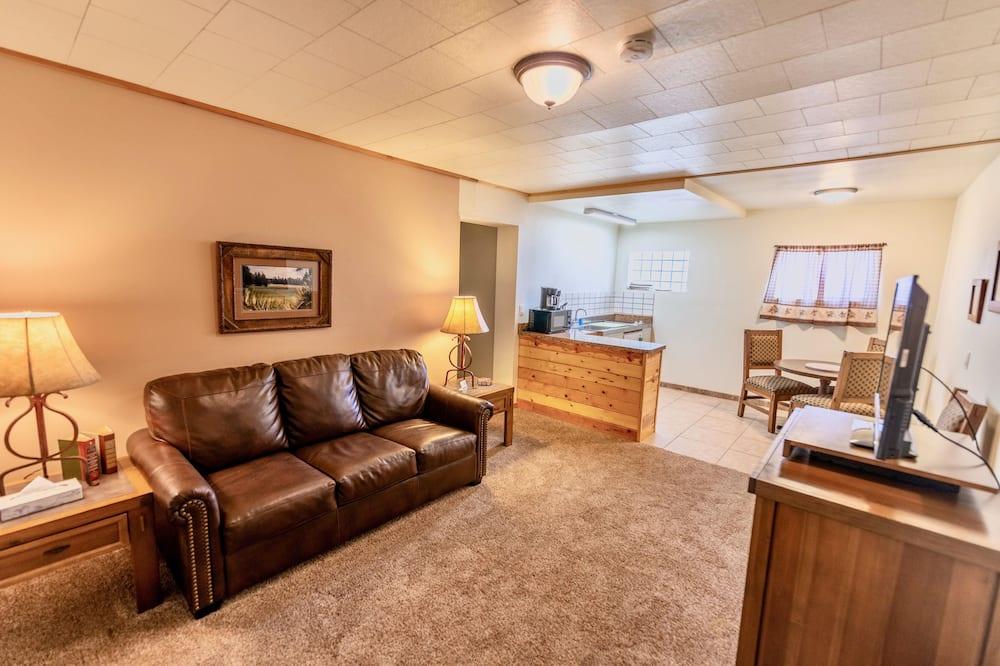 Luksusa numurs, divas guļamistabas, virtuvīte, pagalms - Dzīvojamā zona