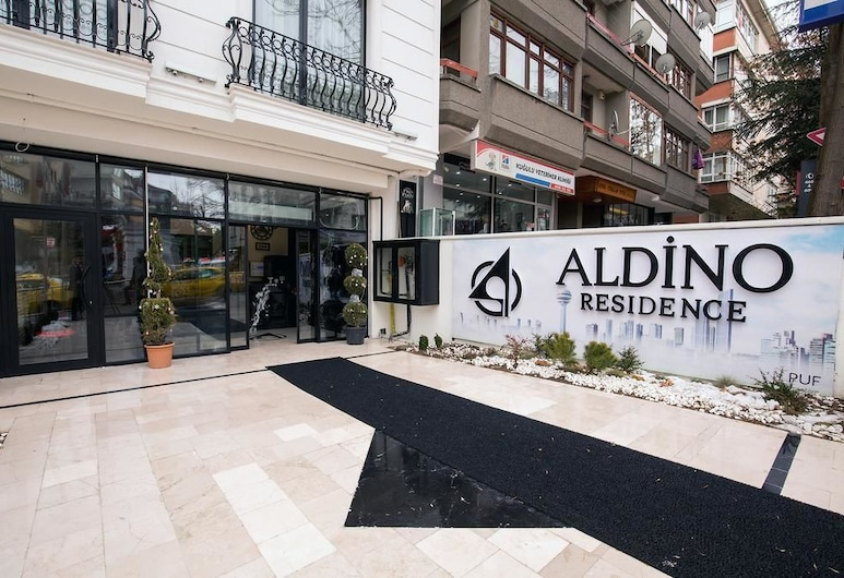 Aldino Residence, Ankara, Otel girişi
