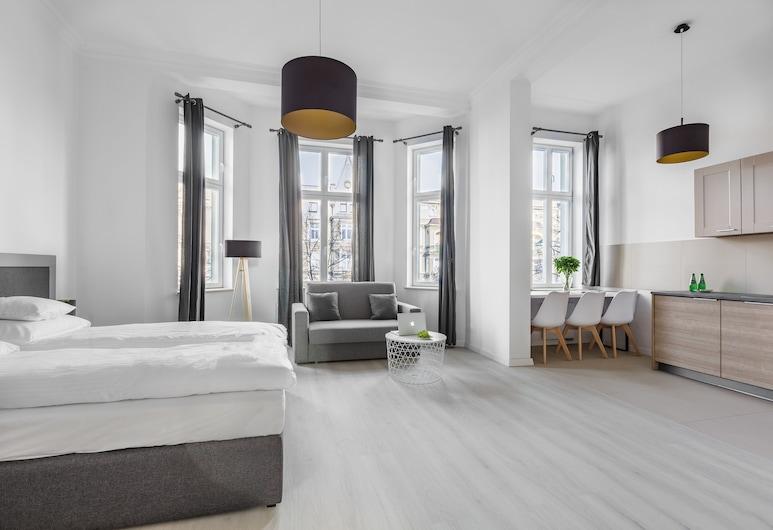 Aparthotel Platinum, Szczecin, Studio suite, Pogled iz sobe