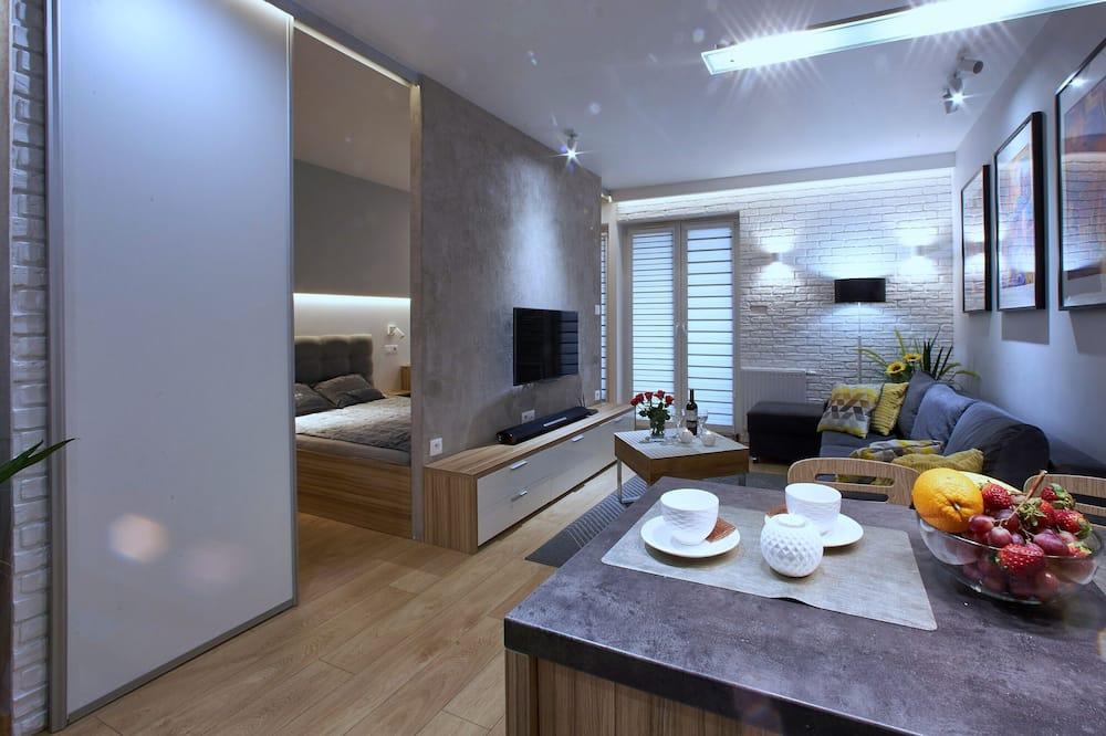 Comfort suite, za nepušače, balkon - Dnevna soba